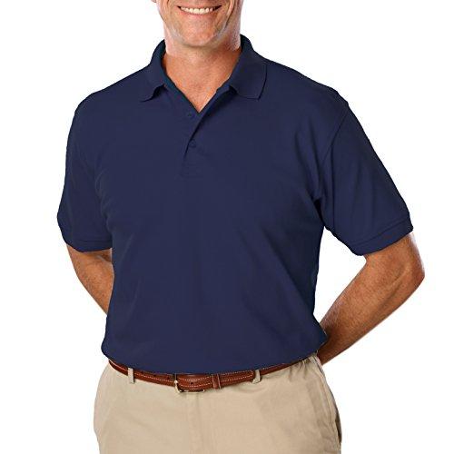 Blue Generation BG-7500T - Men's Tall Value Soft Touch Pique Polo (X-Large Tall, - Polo Generation Blue Shirts
