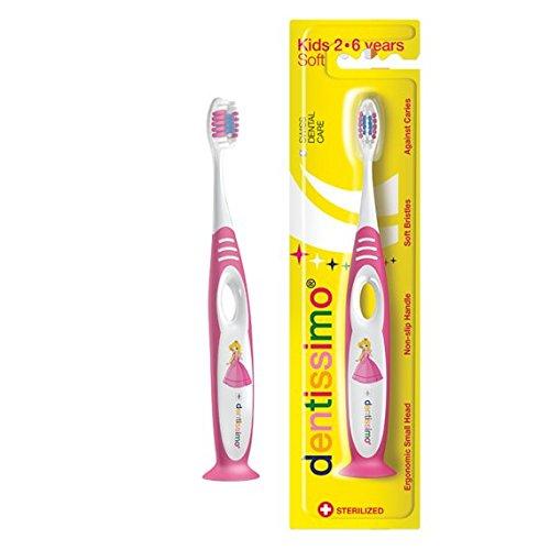 cepillo de dientes dentissimo Kids 2 - 6 (Rosa): Amazon.es: Salud y cuidado personal