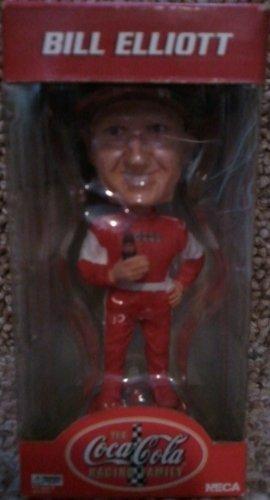Bill Elliott 9 Bobble Head Knocker Coca-cola Racing Family Bobblehead ()