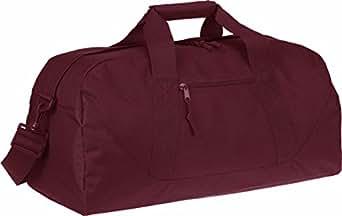 Liberty Bags Game Day Large Square Duffel OS Cardinal