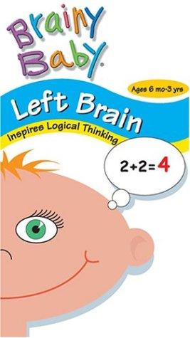 UPC 821408100235, Brainy Baby - Left Brain VHS