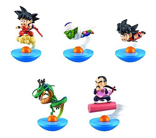 Dragon Ball Goku (Flying), Goku (Cloud Surfing), Piccolo, Shenron, Tao PaiPai, Yura-Kore Mini-Figure Set of 5