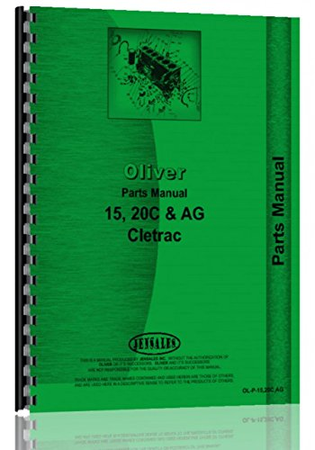 Oliver 15 Cletrac Crawler Parts Manual