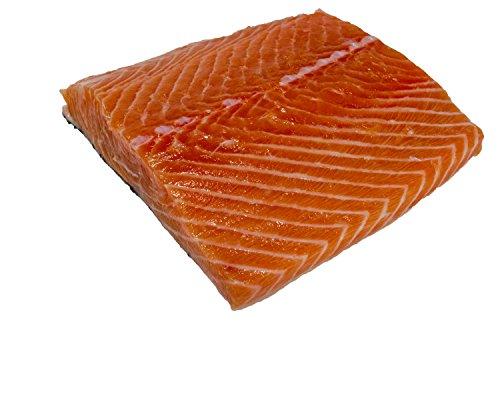 Wild Edibles Seafood, Fresh Atlantic Salmon Fillet, Skin On, 16oz