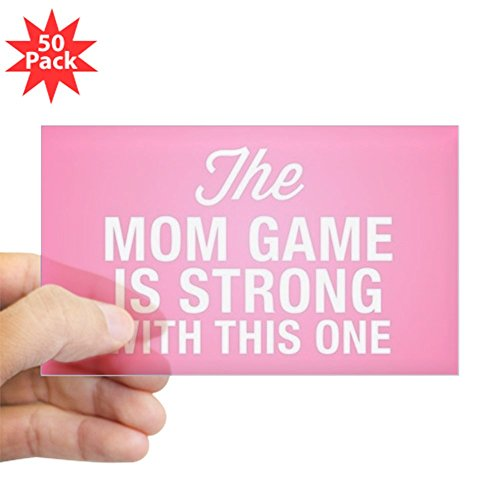 CafePress - Mom Game Is Strong - Sticker (Rectangle 50 pk) by CafePress