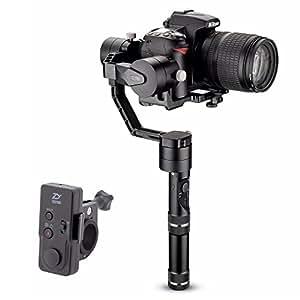 Zhiyun grúa V2 (mando a distancia inalámbrico + 4pcs baterías) 3 ejes sin escobillas de mano Gimbal Estabilizador para Cámaras Réflex Digitales Sony A7 Serie Serie/Panasonic Lumix/Nikon Canon de la serie J M serie