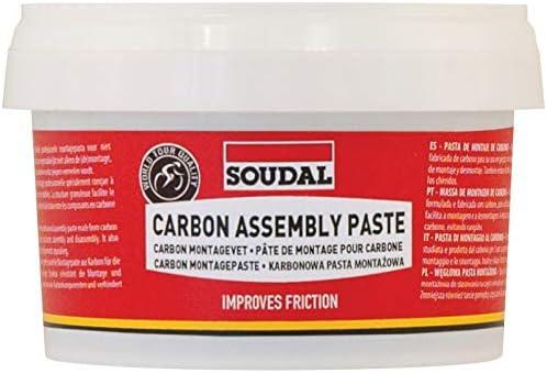 Soudal Carbon Assembly Paste Grasa, Adultos Unisex, Rojo, Talla Única: Amazon.es: Deportes y aire libre