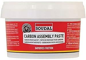 Soudal Carbon Assembly Paste Grasa, Adultos Unisex, Rojo, Talla Única
