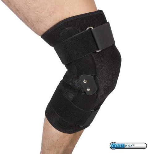 Physioroom Verstellbare Kniestütze - Reha, Bänderverletzungen, Stützend, Schützend, Stabilisierend