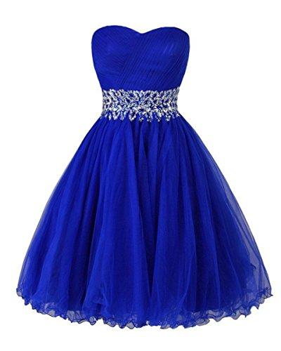 blue poofy dress - 5