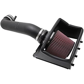 K&N Performance Air Intake Kit 57-2581 with Lifetime Red Oiled Filter for 2011-2014 Ford F150 5.0L V8