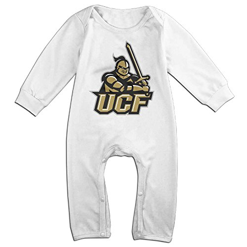 [KIDDOS Baby Infant Romper UCF Knights Long Sleeve Jumpsuit Costume,White 24 Months] (Cyberchase Costumes)