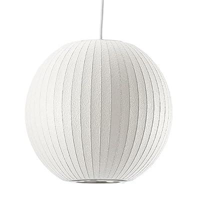 Modernica BALL-LAMP-LG George Nelson LARGE Ball Bubble Pendant Lamp, Large