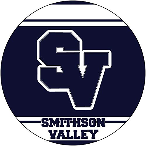 R and R Imports Smithson Valley High School Rangers Spring Branch Texas Sports Team 4 Inch Round Car Fridge Magnet