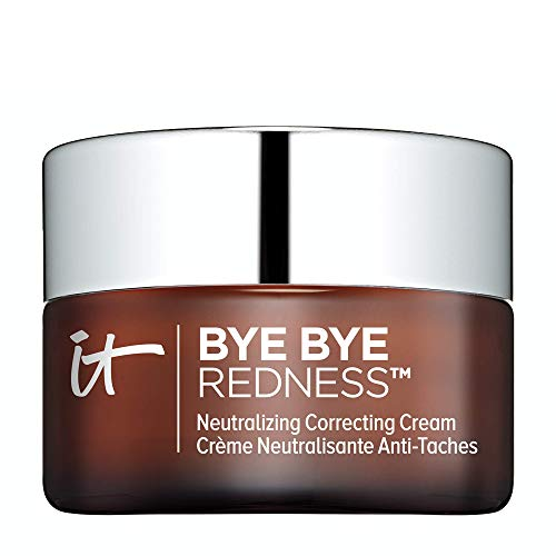 IT Cosmetics Bye Bye Redness, Transforming Neutral Beige – Neutralizing Color-Correcting Cream – Reduces Redness – Long…