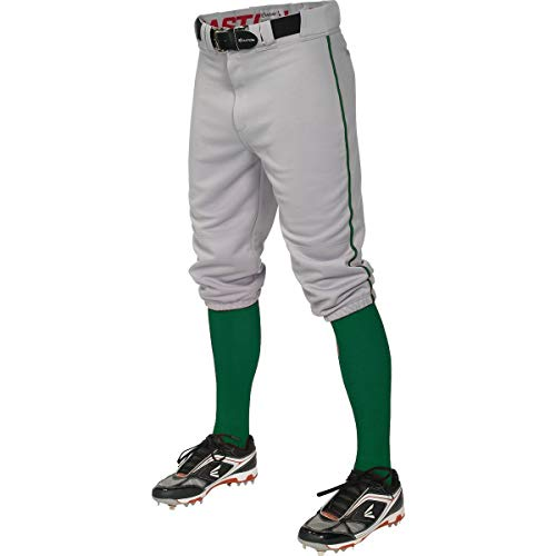 - Easton Pro+ Knicker Youth Baseball Pant - Gray Green Gray Forest Forest/M Youth