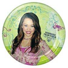 [Hannah Montana Small Paper Plates (8ct)] (Mileys Halloween Costume)