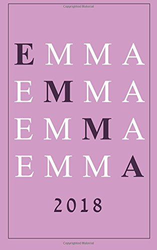 Emma: A Personalized Weekly and Monthly Planner with Inspirational Quotes (5