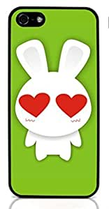 Bunny rabbit Hard Case for Apple iPhone 5/5S ( Sugar Skull ) BY TOBETO