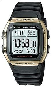 ساعة كاسيو بمينا رقمي للرجال W-96H-9AV