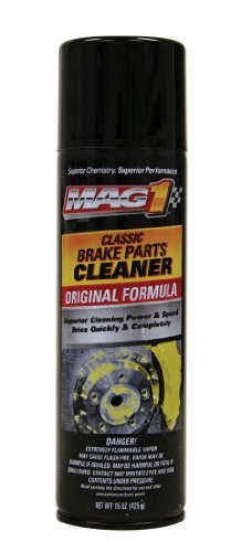 Mag 1 2409 Premium Non-Chlorinated Brake Parts Cleaner - 15 oz.