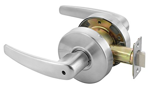Yale MO4602 LKST 497 Door Lever Lockset, Cylinder Lockset, Privacy - Yale Lever Commercial Lockset