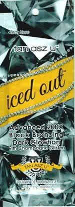 - Lot of 5 Iced Out 200X Bronzer Tanning Lotion Packets By Tan ASZ U