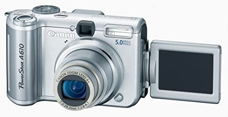 Amazon canada: canon powershot a610 5mp digital camera with 4x.