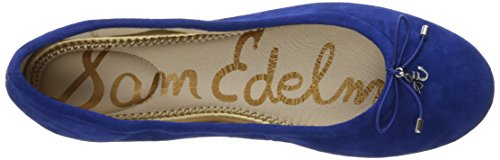 Womens Suede Edelman Nautical Felicia Blue Closed Sam O5nYdxY