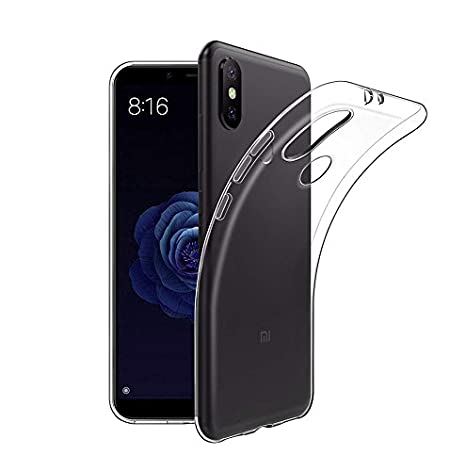 Funda Xiaomi Mi A2/mi 6X, Carcasa Xiaomi Mi A2 TPU Funda Anti-Rasguño Anti-Golpes Cover Protectora TPU Caso Bumper Slim Silicona Case para Xiaomi A2 ...
