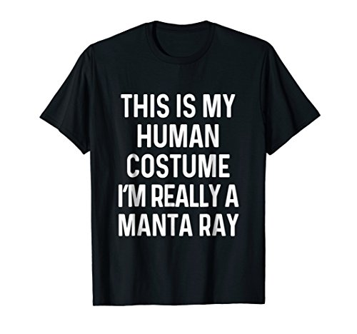 Funny Manta Ray Costume Shirt Halloween