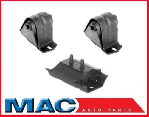 Mac Auto Parts 41651 Wrangler 3Pc Engine Motor Mount Transmission Mount Kit 2 / A2572 1/ A2628