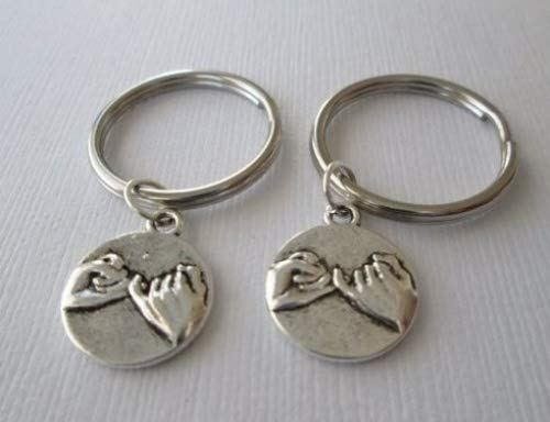 2 Pinky Promise, Best Friends Keychains ast