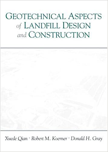 Amazon geotechnical aspects of landfill design and construction amazon geotechnical aspects of landfill design and construction 8580000599138 xuede qian robert m koerner donald h gray books fandeluxe Image collections