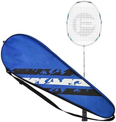 バドミントンラケット、バドミントンラケットフィットネス 毎日のトレーニング 家族レジャー エンターテイメント スポーツ用品 ユニセックス (Color : Blue)