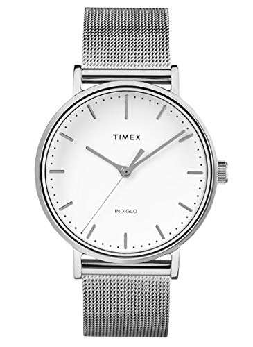 Timex Fairfield White Dial Stainless Steel Ladies Watch TW2R26600