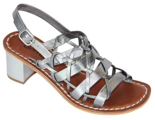 Womens Sandals Bernardo Steel Jacks Slingbacks FSOqndc4