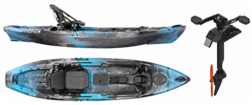 Wilderness Systems Radar 115 w/Pedal Drive Fishing Kayak (Midnight) ()