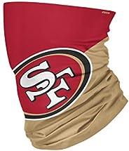 NFL San Francisco 49ers Unisex Face Mask Gaiter Big Logo, Team Colors, One Size