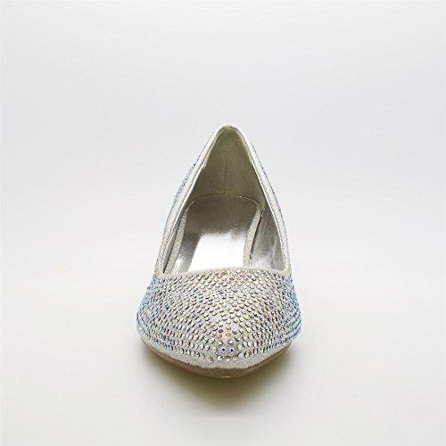 argento Argento Zeppa London Footwear Con Donna Sandali 0vgPqwY