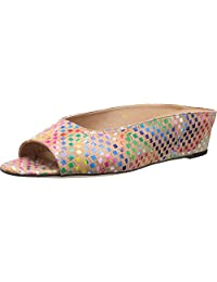 Vaneli Women's Kira Multi Spiral wedge sandals Cork size 8.5 N, AA