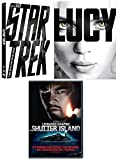 Caught in the Dark Sci-Fi Deal Lucy + Star Trek Special Edition & Shutter Island Scorsese DiCaprio Triple Movie Collection 3 DVD Pack