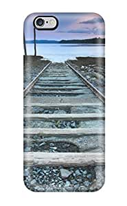 Fashion Protective Railroad To Nowhere Case Cover For Iphone 6 Plus