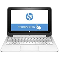 2016 HP Pavilion X360 2 in 1 Laptop Computer (11.6 Inch HD Touchscreen, Intel Celeron up to 2.58GHz Processor, 2GB DDR3, 32GB Emmc Storage, Wifi, HDMI, Windows 10) (Certified Refurbished)