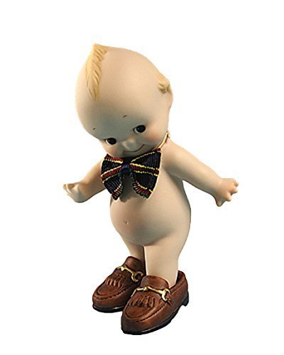 """KEWPIE Sekiguchi Authentic Collectible Doll Made of Bisque 4.75"""". """" Like Papa. Limited Edition."""