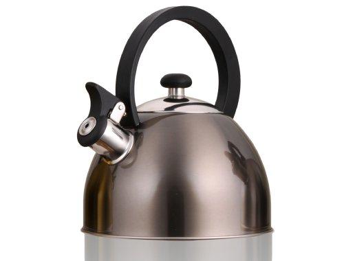 Prelude Metallic Smoke 2.1 Quart Whistling Tea Kettle