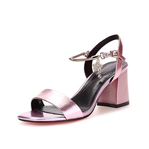8cm Sandaler 8 6inch Pink Fingre Ordet I 21 Kvinder Sandaler Åbne fods Længde Med Rå Med Sommer Det aZwdaq
