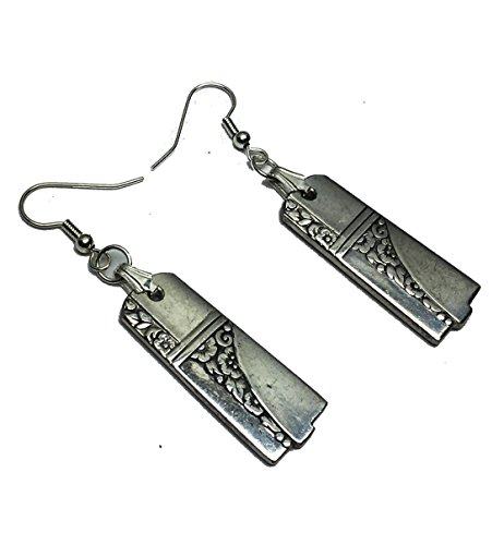 Spoon Earrings 1937 Caprice Oneida Art Deco Silverplate