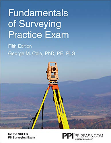 Fundamentals of Surveying Practice Exam ()