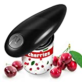 Electric Can Opener, Smooth Edge, Food-Safe and